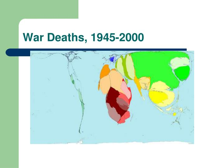 War Deaths, 1945-2000