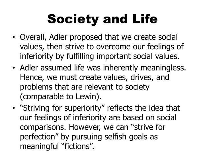 Society and Life