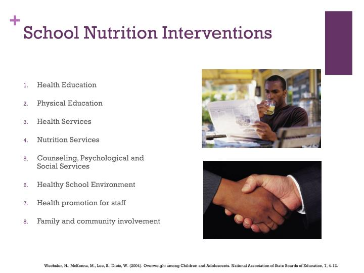 School Nutrition Interventions