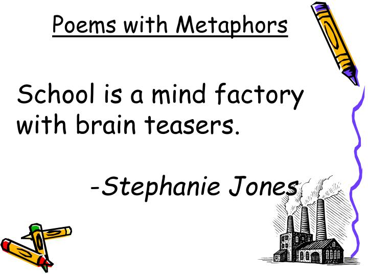 Poems with Metaphors
