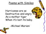 poems with similes1