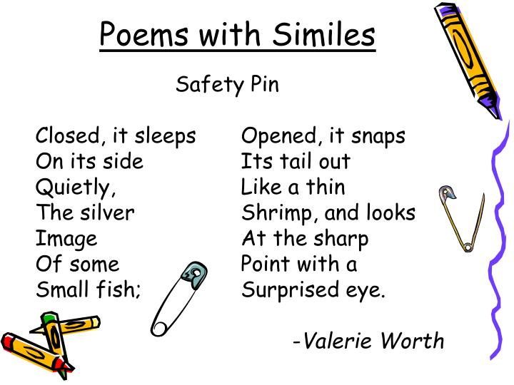 Poems with Similes