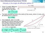 intensity in the single slit diffraction pattern ii
