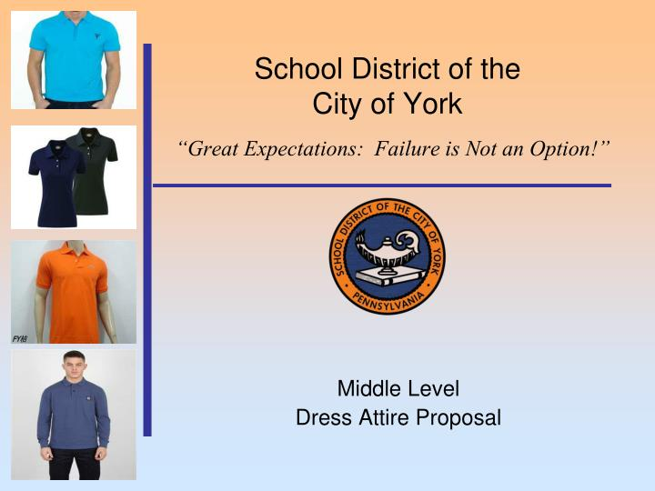 School district of the city of york great expectations failure is not an option