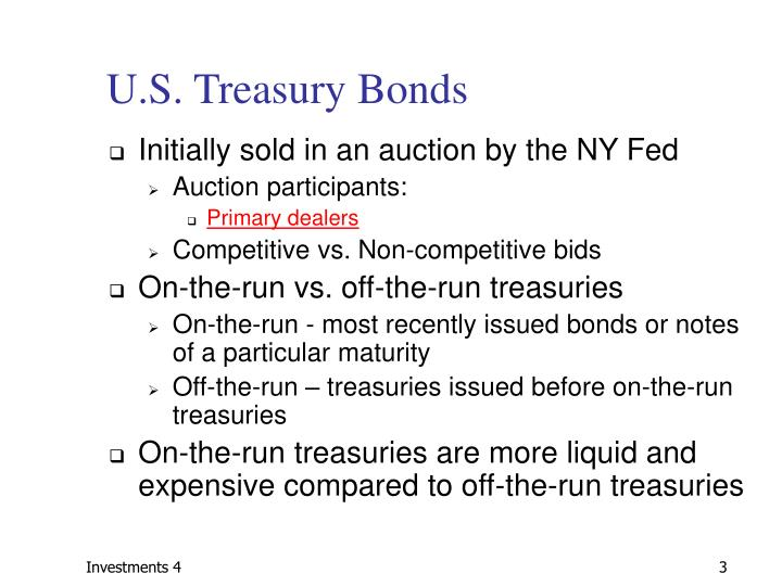 U.S. Treasury Bonds