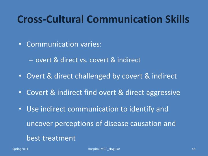 Cross-Cultural Communication Skills