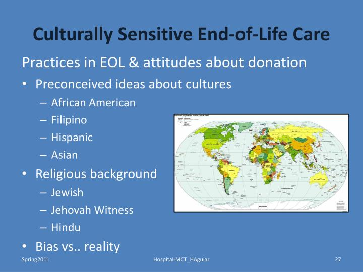 Culturally Sensitive End-of-Life Care