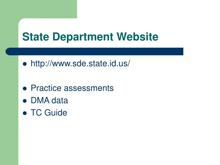 State Department Website