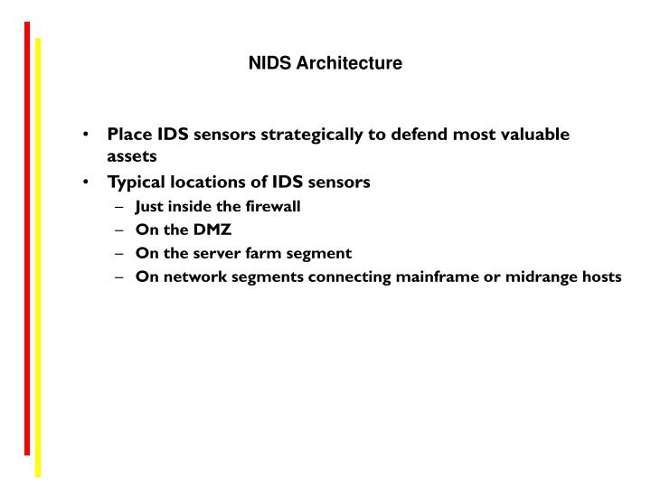 NIDS Architecture