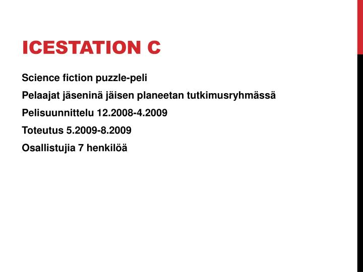 Icestation