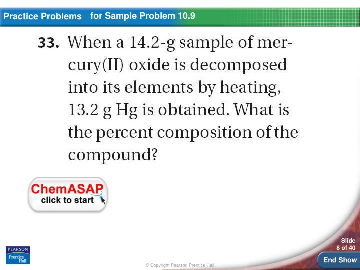 for Sample Problem 10.9
