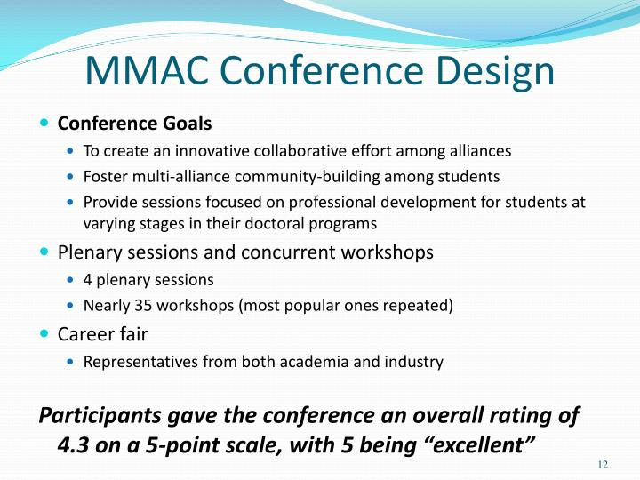 MMAC Conference Design
