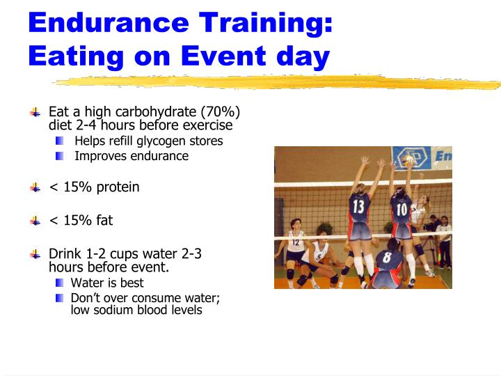 Endurance Training: