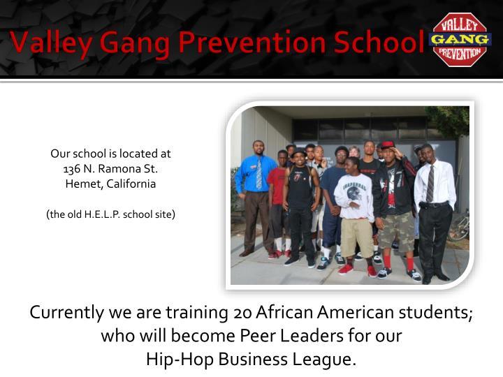 Valley Gang Prevention School