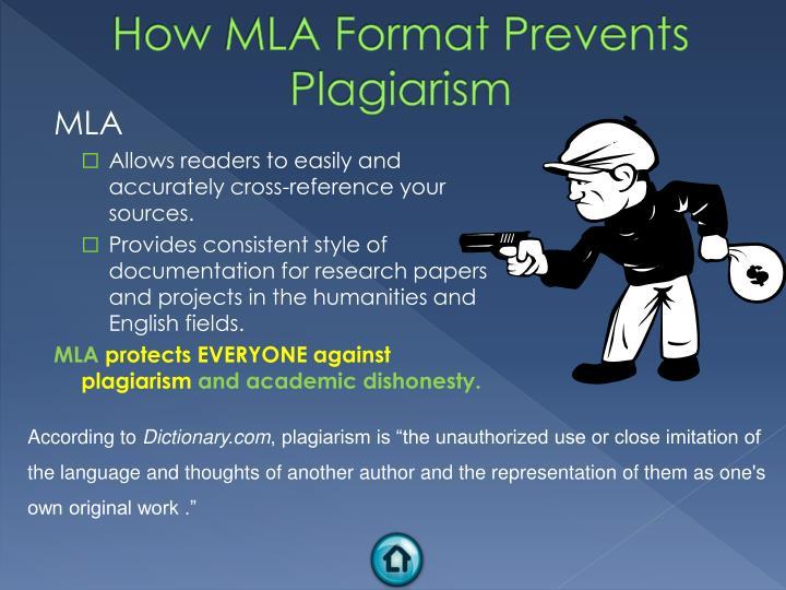 How MLA Format Prevents Plagiarism