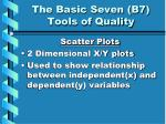 the basic seven b7 tools of quality5
