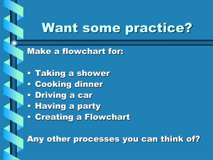 Want some practice?