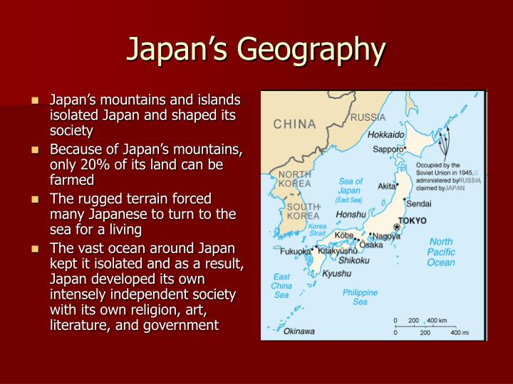 Japan s geography