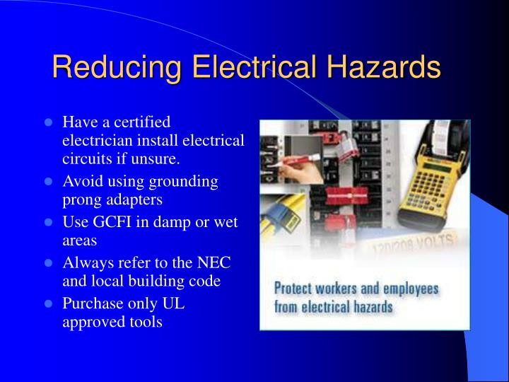 Reducing Electrical Hazards