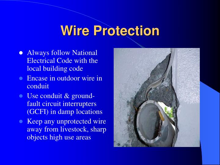 Wire Protection