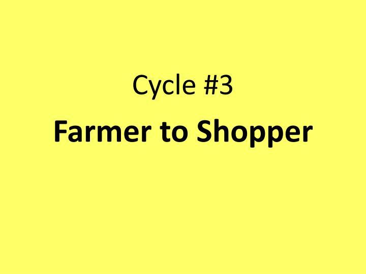 Cycle #3
