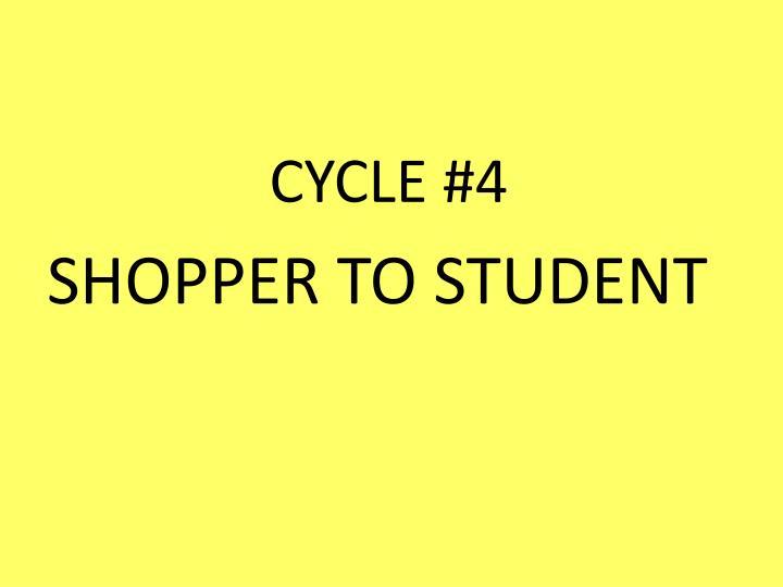 CYCLE #4