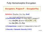 fully homomorphic encryption1