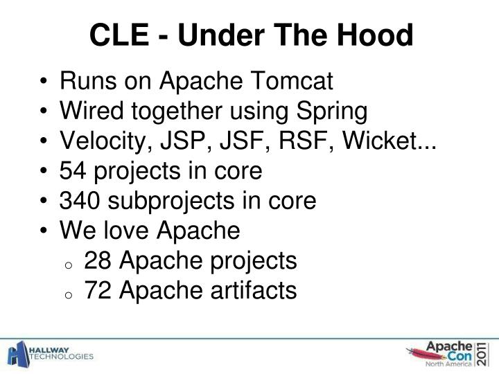 CLE - Under The Hood