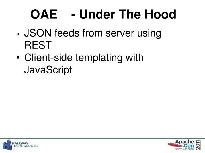 OAE- Under The Hood