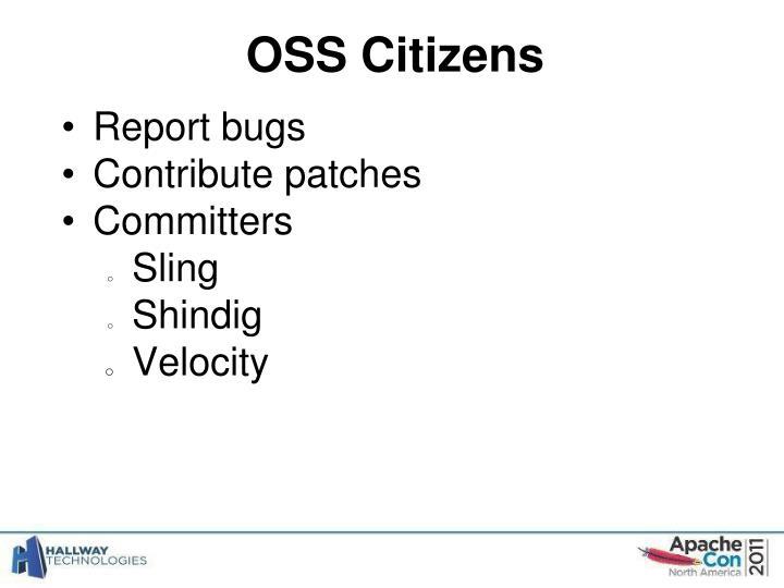 OSS Citizens