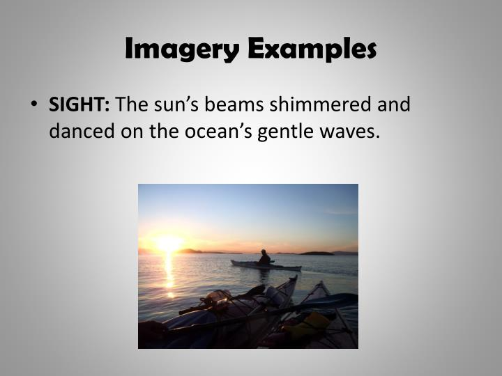 Imagery Examples