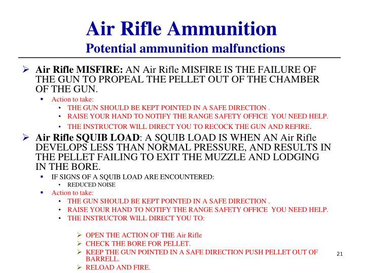 Air Rifle Ammunition