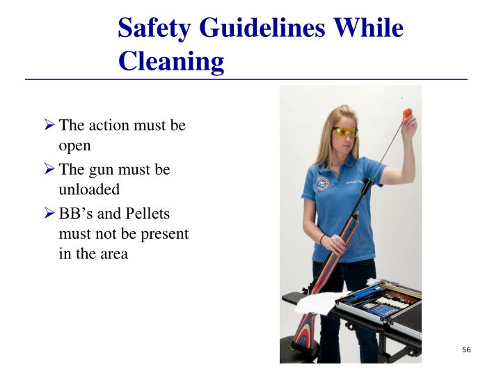 Safety Guidelines While Cleaning