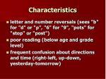 characteristics4