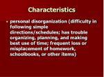 characteristics5