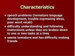 characteristics7