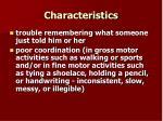 characteristics8
