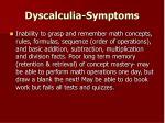 dyscalculia symptoms5