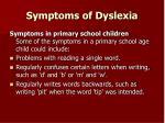 symptoms of dyslexia1
