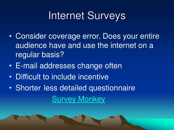 Internet Surveys
