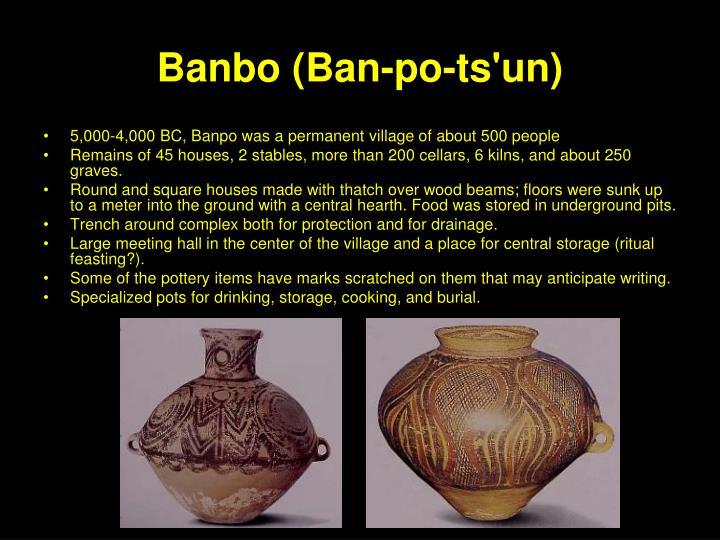 Banbo (Ban-po-ts'un)