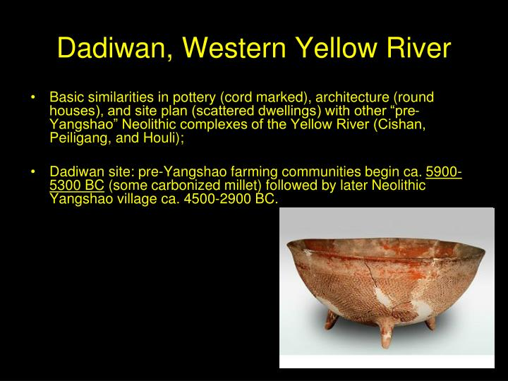 Dadiwan, Western Yellow River