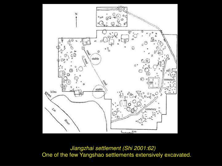 Jiangzhai settlement (Shi 2001:62)