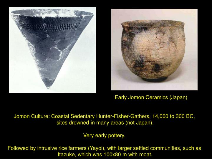 Early Jomon Ceramics (Japan)