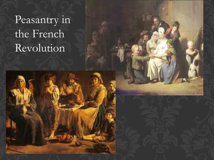 Peasantry in the French Revolution