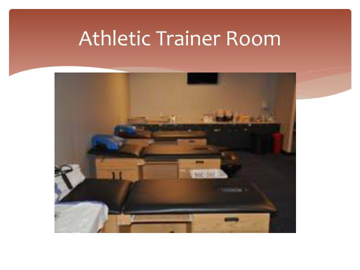 Athletic Trainer Room