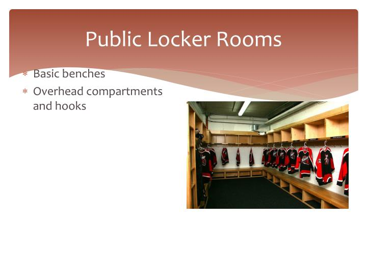 Public Locker Rooms