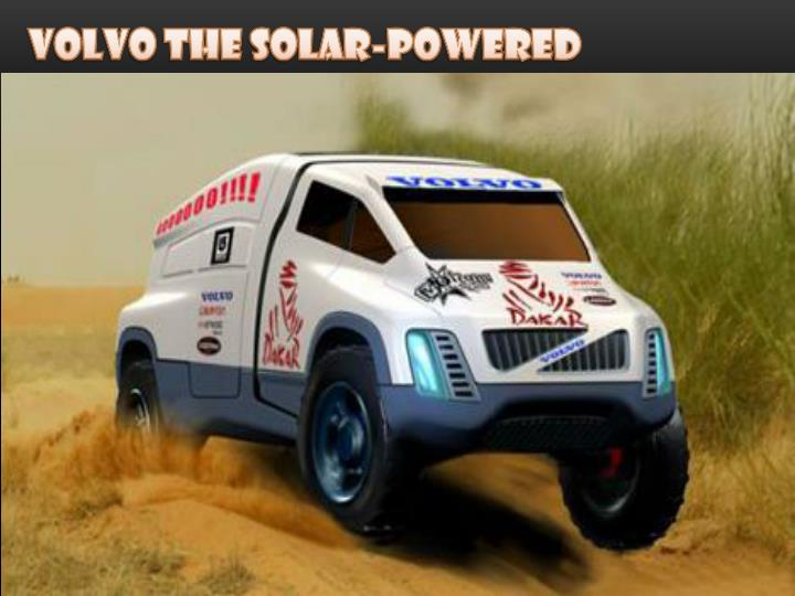 Volvo The Solar-Powered