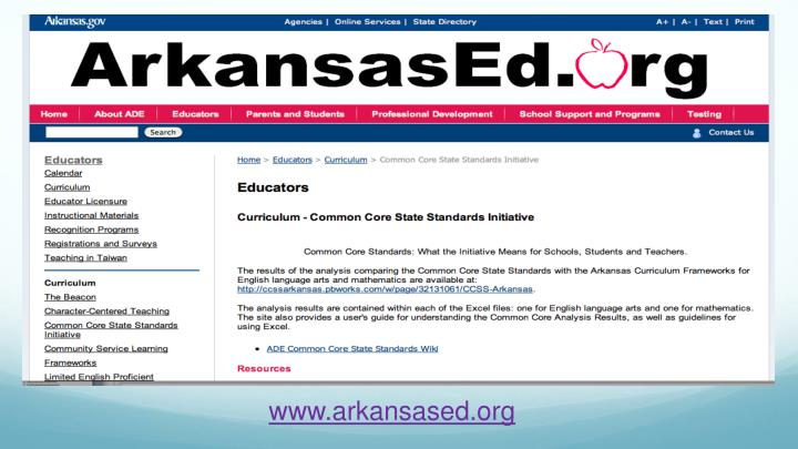 www.arkansased.org