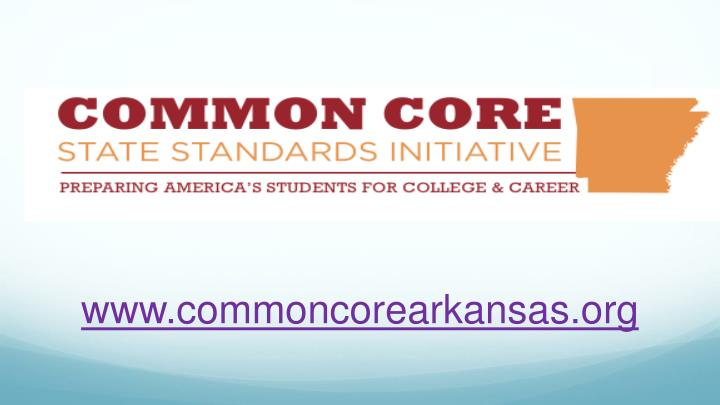 www.commoncorearkansas.org